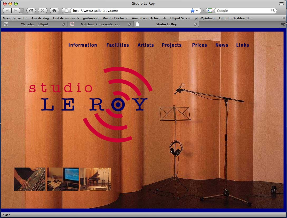 Websites lilliput - Studio ontwikkeling ...