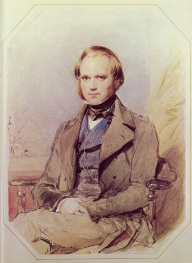 Darwin in 1840